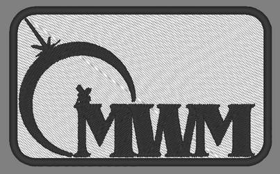 City of Titans MWM Logo Patch - Black on White by lokiie1984