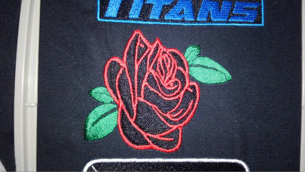 City of Titans Black Rose Patch by lokiie1984