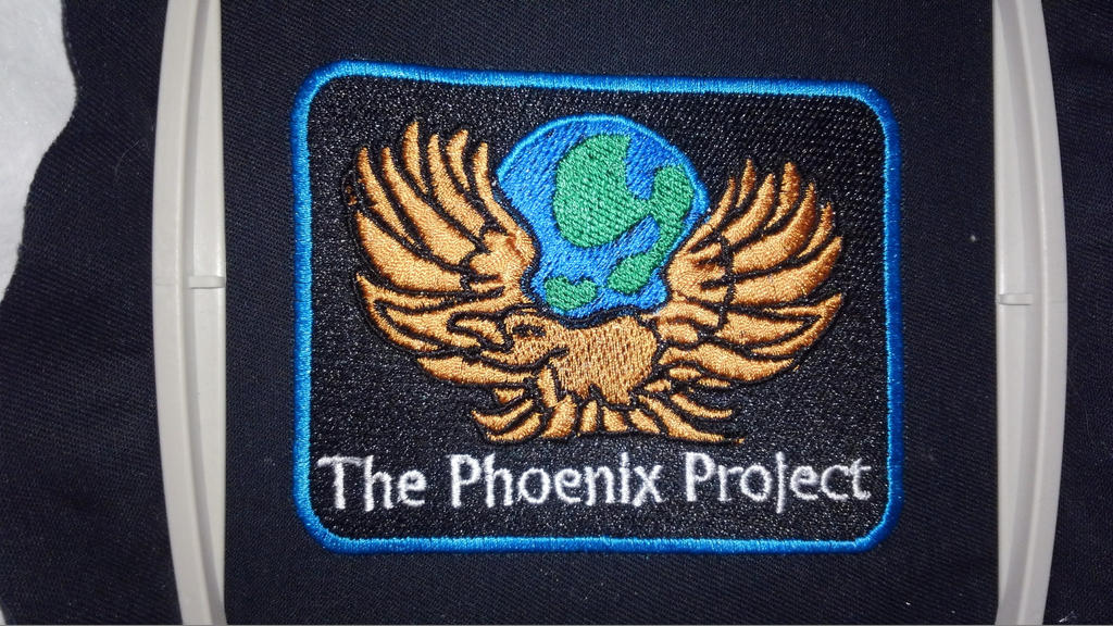 City of Titans The Pheonix Project Patch by lokiie1984
