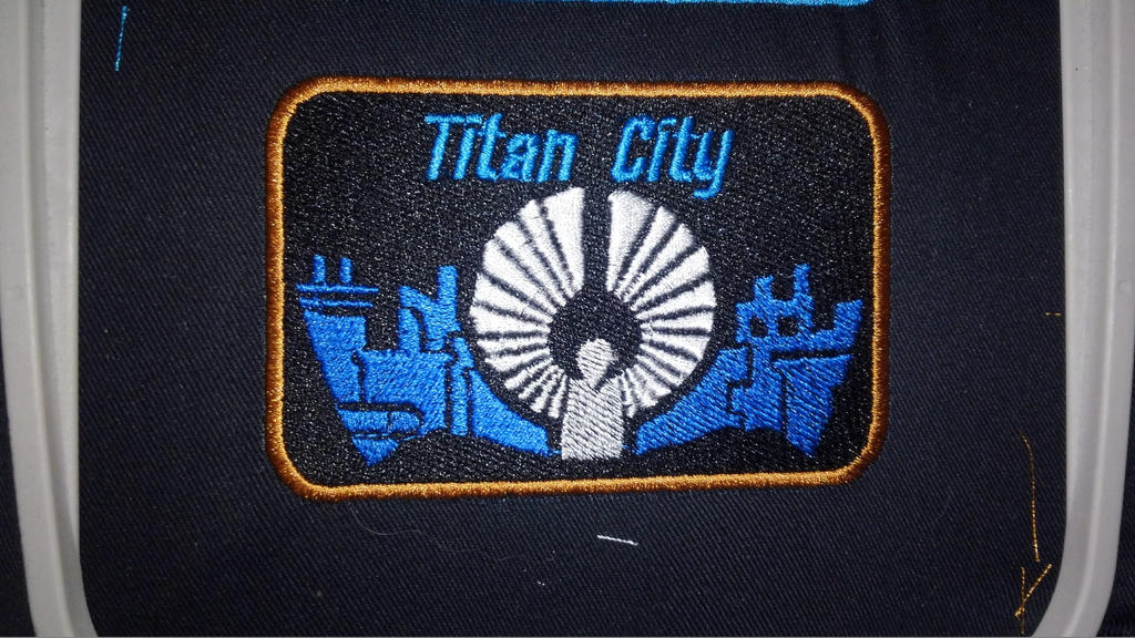 City of Titans Titan City Patch by lokiie1984