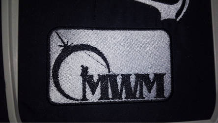 City of Titans MWM Logo Patch White on black by lokiie1984
