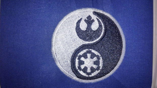 Star Wars Rebel Empire YinYang Embroidered Patch