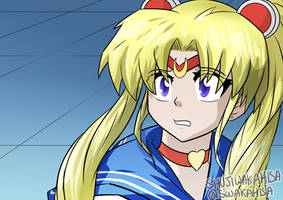 Sailor Moon Re-Draw Challenge