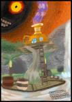 Classtober Day 2:Majoras Mask Woodfall Potion Shop by ShujiWakahisaa