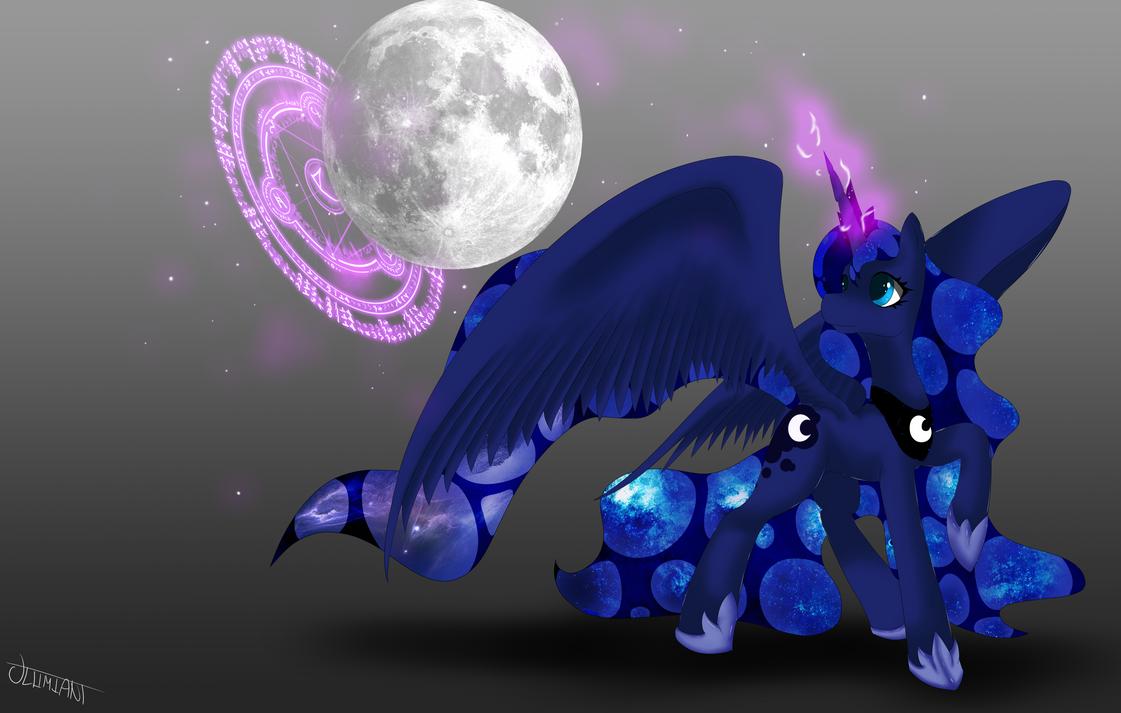 Princess Luna by Ultimiant