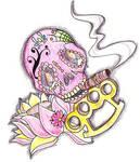 Skull and More tat design.