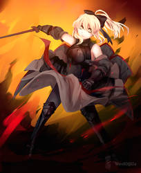 Saber Lily Alter by Wes80