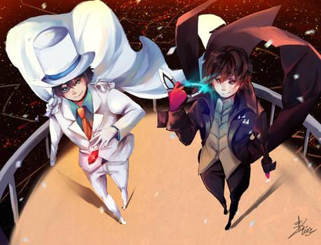 magic kaito x Persona 5