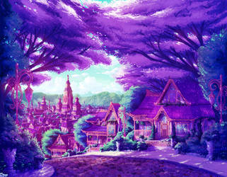 Magical Suburb by Astral-Requin