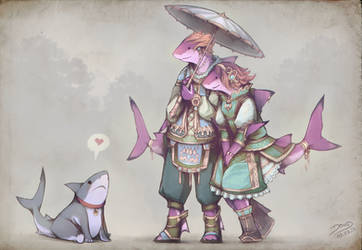 Shark pet by Astral-Requin