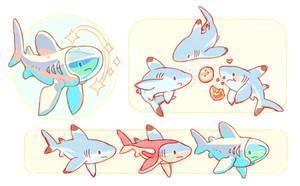 Fufo - The Cosmonaut Shark by Astral-Requin