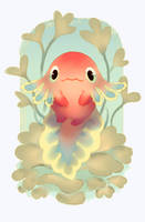 Little Axolotl by Astral-Requin