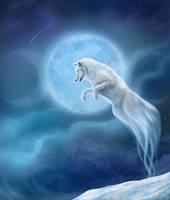 Spirit Wolf by CLB-Raveneye