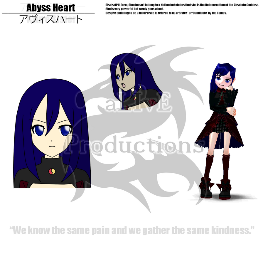 Hyperdimension Neptunia OblivioN - Abyss Heart by KasaneShuji on ...