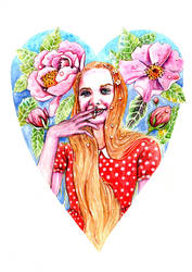 Tea - the Most Beautiful Princess by ElfinIllustrator