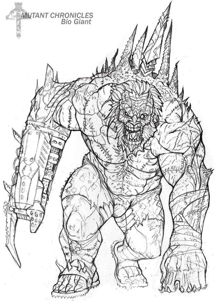 Mutant Horror by Janji009 on DeviantArt