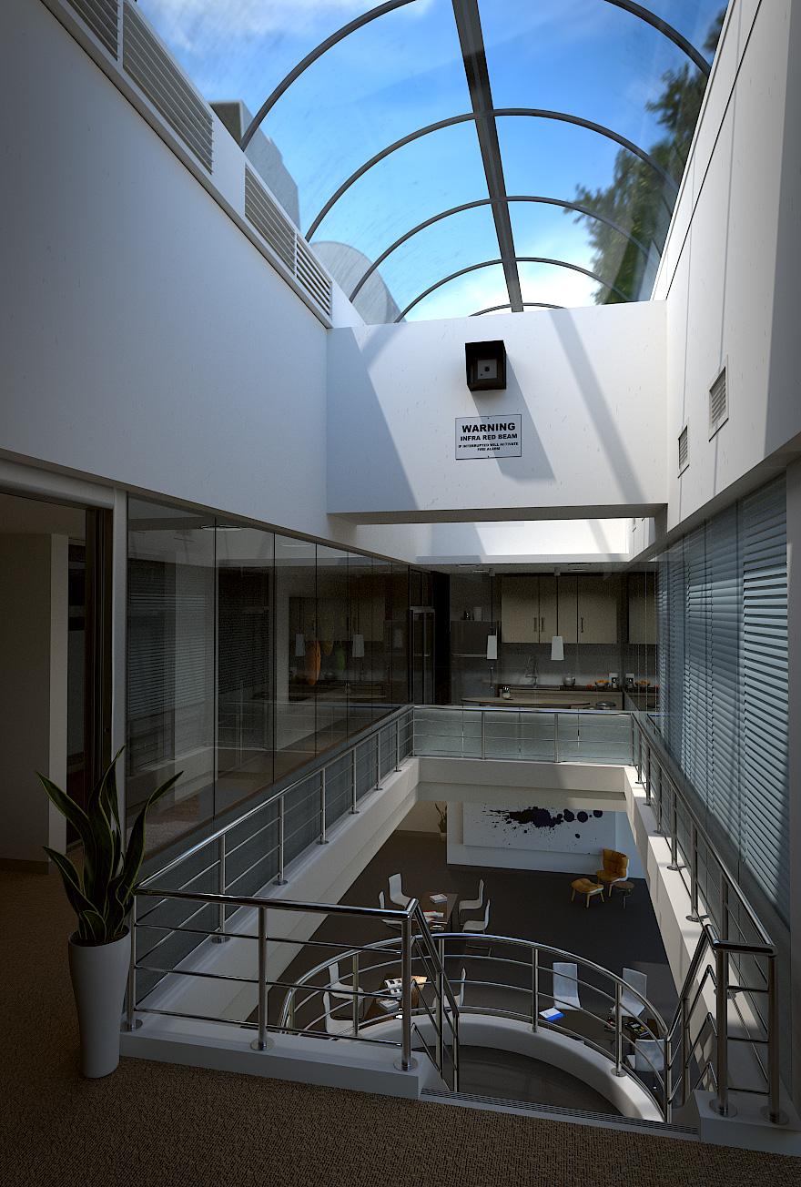 University Atrium by pancreasboy