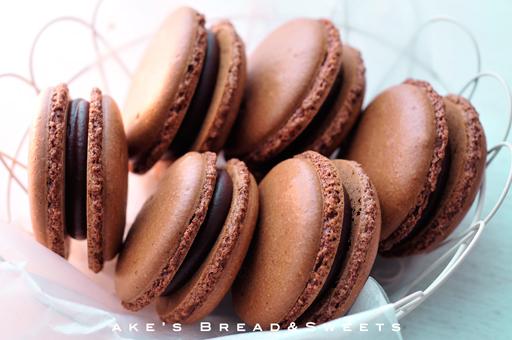 Chocolate   Macaron by akemiM