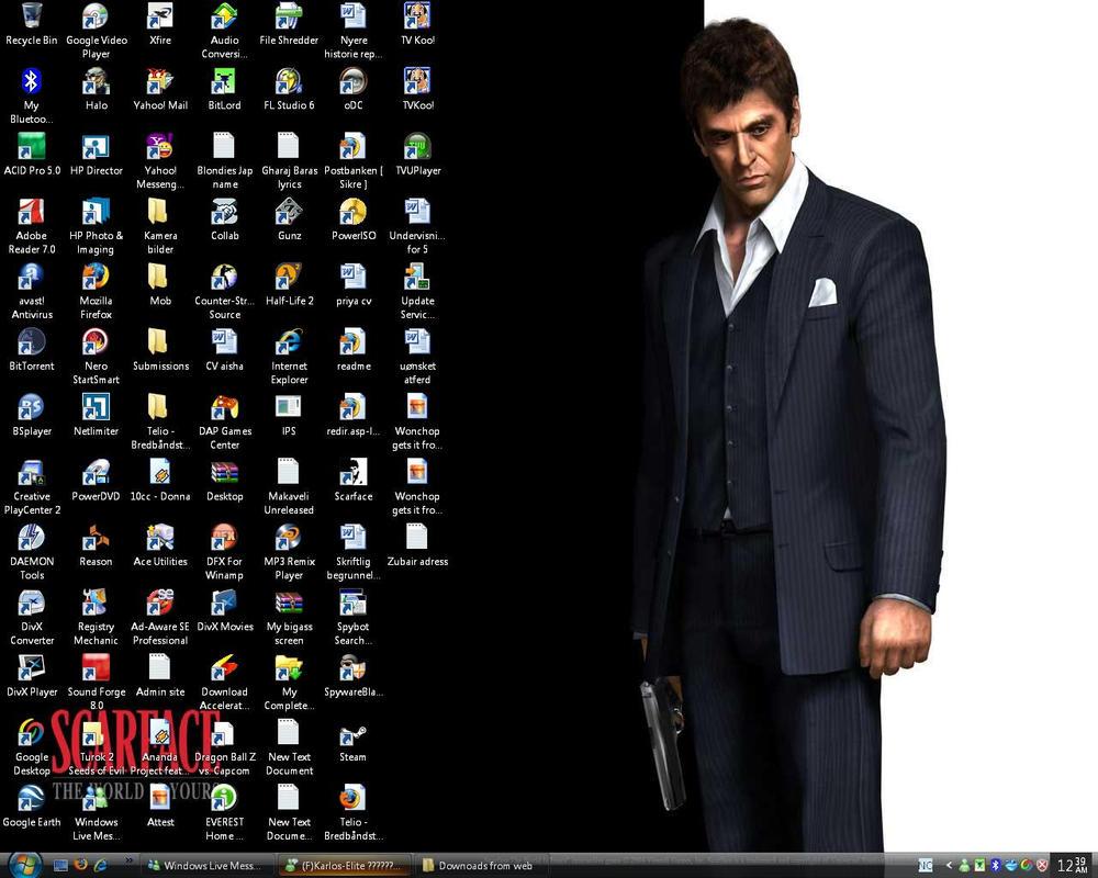 My desktop by Hammi4Real