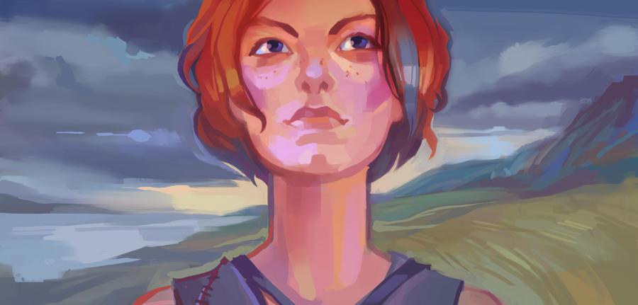 redhead by sashafranz