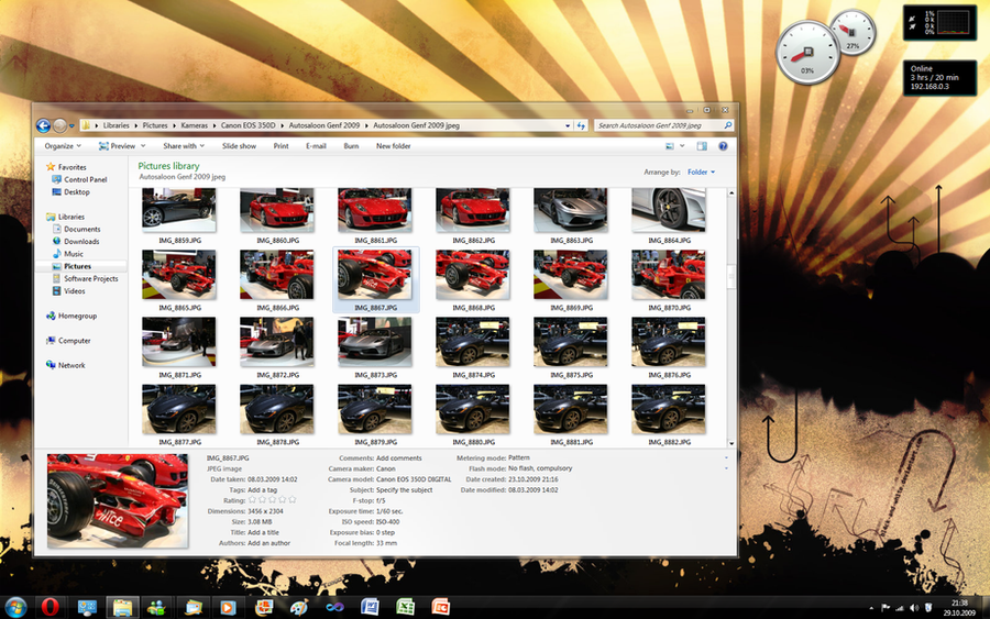 Desktop - 29.10.2009 by bluefisch200