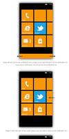 Windows Phone 8 Notification Center - Mockup