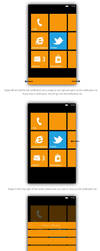 Windows Phone 8 Notification Center - Mockup by bluefisch200