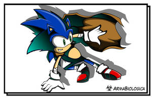 Sonic the Hedgehog by ArmaBiologica