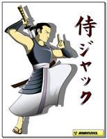 Samurai Jack by ArmaBiologica