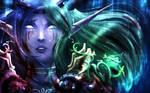 I'm sorry, It felt so Real... [Warcraft FANART] by LittleAmava