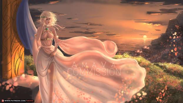 Commission - Layeliss Oberheim, Lady of the Wood