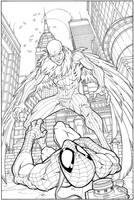 Vulture  Spider-Man by WaldenWong