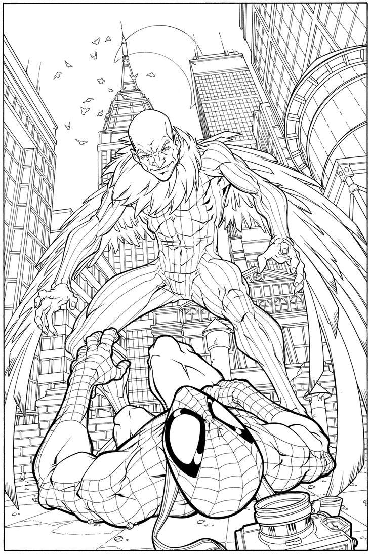 Vulture SpiderMan by WaldenWong on DeviantArt