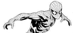 Spider-Man panel by WaldenWong