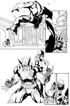 Scarlet Spider #17 p. 17  Pencils: Carlo Barberi I