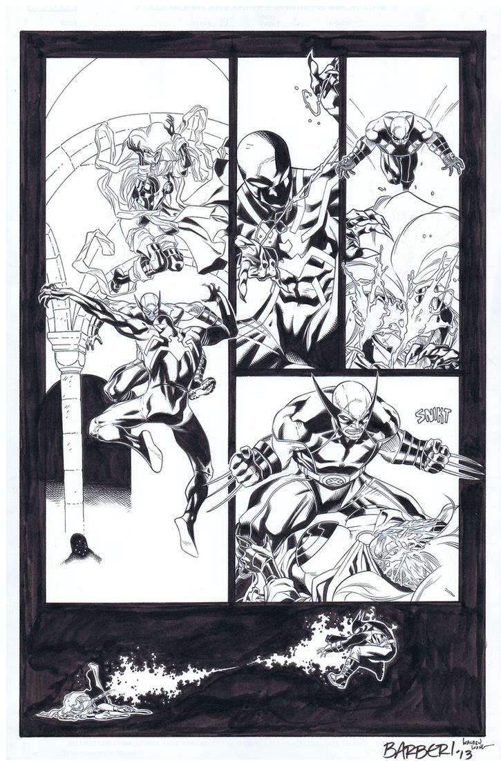 Scarlet Spider #19 re-INK-eration by WaldenWong