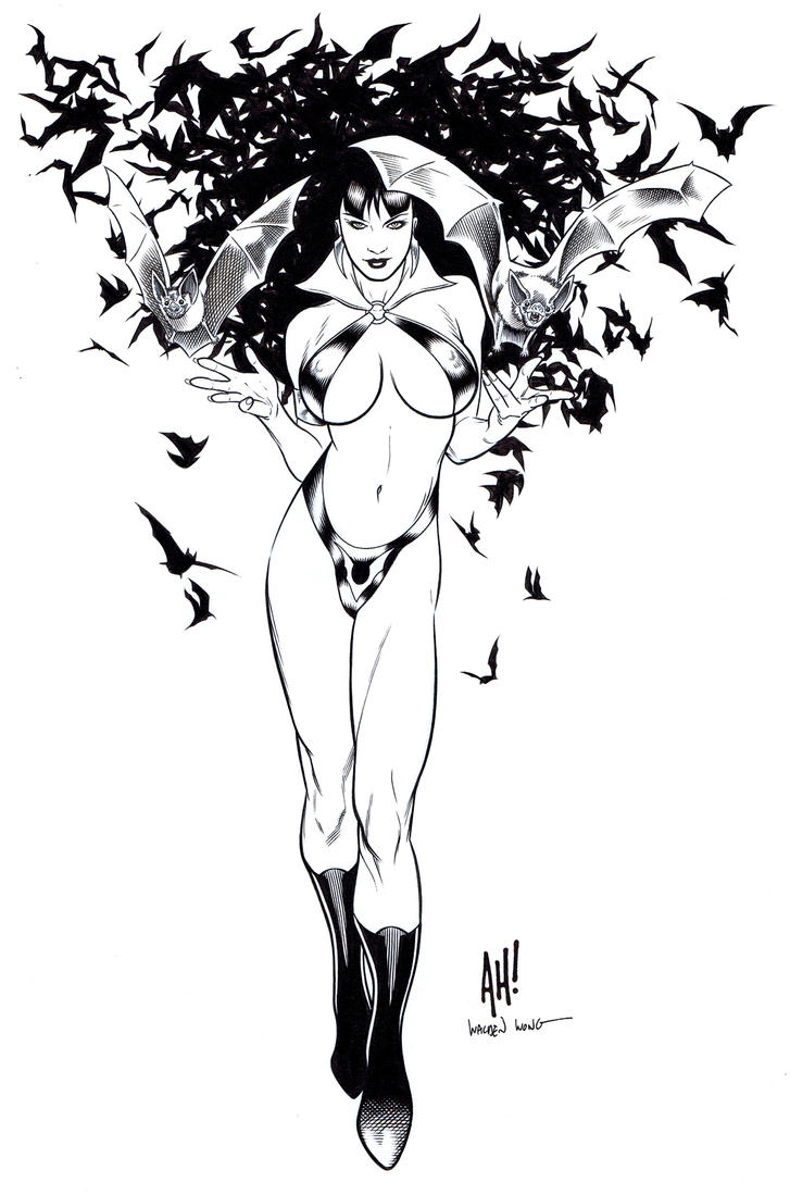 Vampirella by WaldenWong