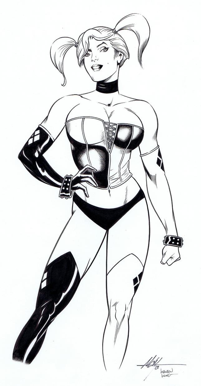 Harley Quinn by WaldenWong