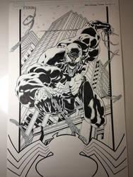 Inking Venom Stage 6 by WaldenWong
