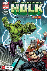 INCREDIBLE HULK VS. THE MIGHTY THOR: NEW YORK JETS by WaldenWong