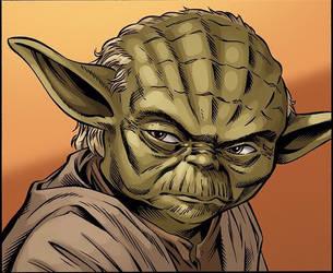 Yoda by WaldenWong