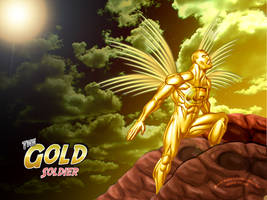 The Gold Soldier by crz4all