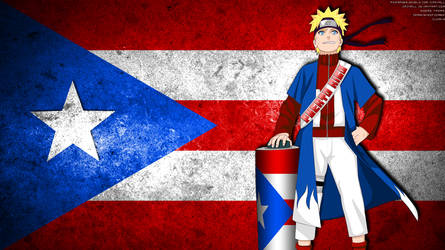 Naruto - Puerto Rico by crz4all