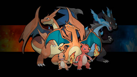 Pokemon - Charmander Family