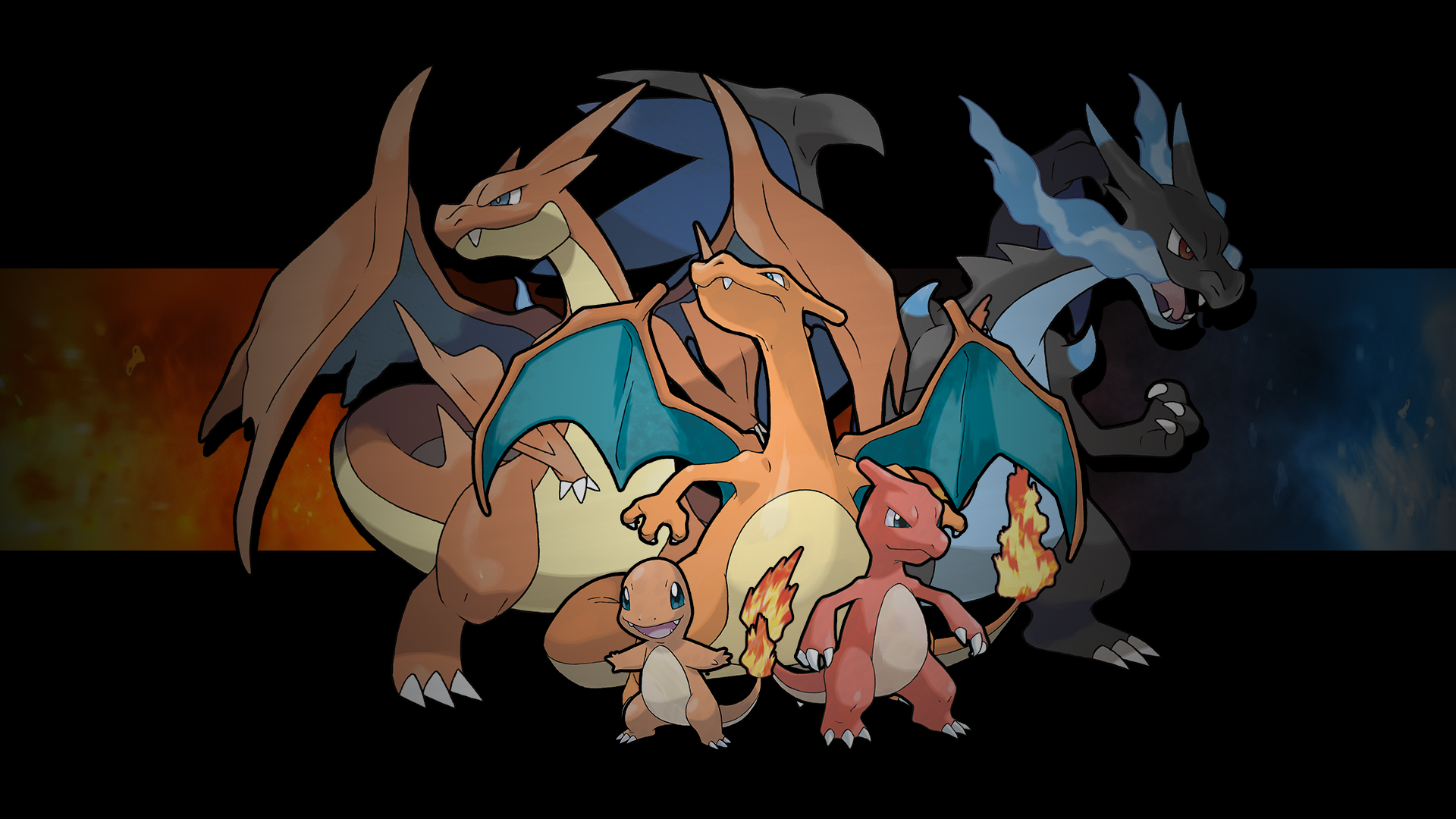 Pokemon - Charmander Family by crz4all