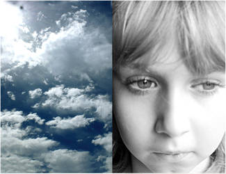 b. and the blue sky by marievonb
