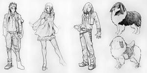 Characters Design 01