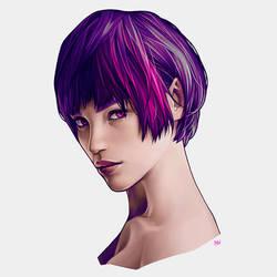 Female Bust by KarmaLizzard