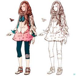 Rapunzel Concept by MFD by KarmaLizzard