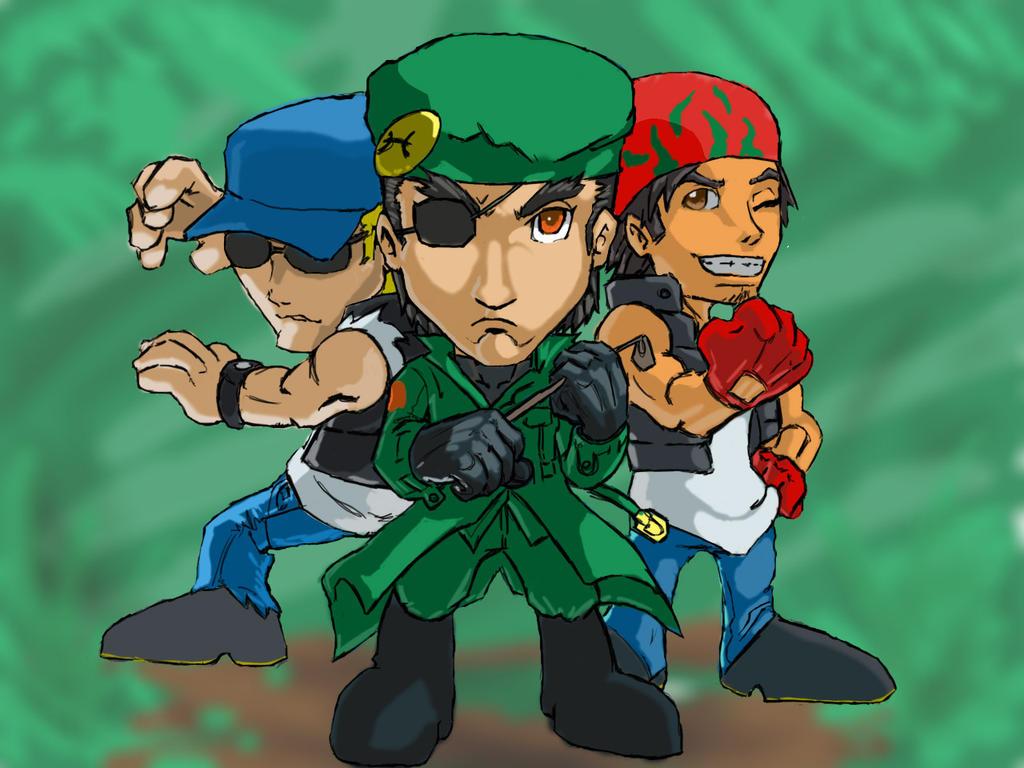 Brazil Team jungle by caminanteysusombra